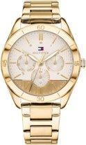 Tommy Hilfiger TH1781883 horloge dames - goud - edelstaal doubl�