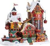 Lemax Elf Made Toy Factory Kerstdorpen - Met verlichting - 4.5V Adapter (AA)