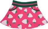 Happy Nr. 1-meisjes-rok-Aardbeien-kleur: roze, groen-maat 104