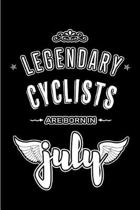 Legendary Cyclists are born in July