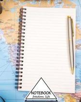 Notebook Journal Dot-Grid, Graph, Lined