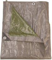Talen Tools dekzeil 4x4 m grijs groen - 140gr/m2 - professioneel