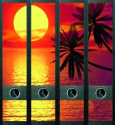 Rugetiket Tropical Sunset