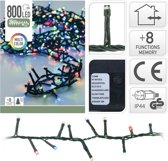Kerstverlichting microcluster 800 LED Multi Color 16 Meter met 8 Standen