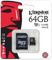 Kingston Micro SD Card 64GB Class 10