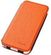 KLD Folio Beschermtasje Charming2 Oranje voor Apple iPhone 5/5S