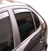 ClimAir Zijwindschermen Master Dark (achter) Hyundai Santa Fe 2000-