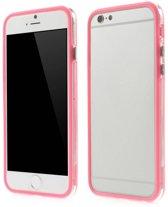 TPU Combo Bumper iPhone 6(s) - Licht Roze