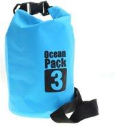 3 Liter - Ocean Pack - waterdichte tas - droogtas - outdoor plunjezak - zeilen