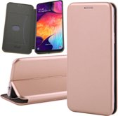 Samsung Galaxy A50 Hoesje - Book Case Flip Wallet - Roségoud