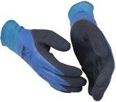 GUIDE werkhandschoenen - type 585 - blauw latex / waterdicht - maat 9