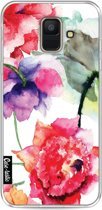 Casetastic Softcover Samsung Galaxy A6 (2018) - Watercolor Flowers
