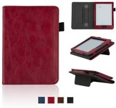 Lunso - sleepcover stand hoes - Kobo Clara HD - rood
