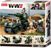 Building Blocks WWII Serie WWII Giftbox 4 in 1