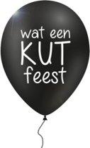12 verwensballonnen in cadeauverpakking: 'Wat een kut feest'