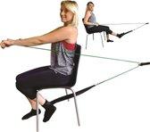 Katrolsysteem voor been oefeningen