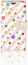 Wiko Lenny Boekhoesje Design Dots