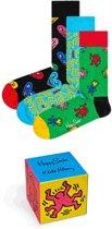 Happy Socks Keith Haring Giftbox - Maat 41-46