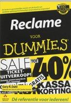 Voor Dummies - Reclame voor Dummies