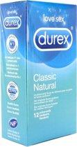 Durex Classic Natural Condooms - 12 stuks
