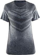 Craft cool comfort rn ss w - Sportshirt - Dames - Black Mélange - S