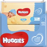 Huggies Pure Billendoekjes 99% water – 18 x 56 doekjes