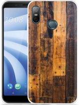 HTC U12 Life Hoesje Special Wood
