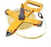 Ironside Landmetermaat fiber 50 meter x 13mm