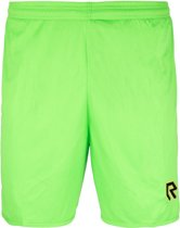 Robey Shorts Backpass - Voetbalbroek - Neon Green - Maat 128