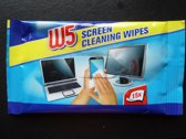 w5 screen cleaning wipes