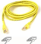 CABLE.CAT5E.UTP.RJ45M/M.5M.YLW.PATCH.SNAGLESS
