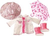 Götz Poppenkleertjes Götz Girls 45-50 cm Compleet regenset