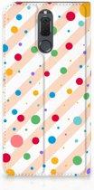 Book Case Huawei Mate 10 Lite Hoesje Design Dots