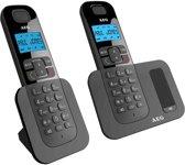 AEG Voxtel D500 - Duo DECT telefoon - Zwart