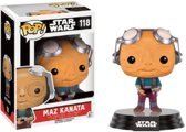 Funko Pop! Star Wars: Maz Kanata No Glasses Le - Verzamelfiguur