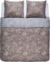 Nightlife Dekbedovertrek Washcotton Taupe/Grey-240x200/220
