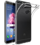 Pearlycase® Transparant TPU Siliconen Case Hoesje voor Huawei P smart