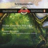 Szymanowski: Violin  Concertos 1 & 2; Three Paganini Caprices Op. 40; Rom