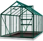 ACD serre 'Intro Grow Lily' polycarbonaat & aluminium groen 6,2 m_