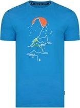 Dare 2b-Eventide Tee-Outdoorshirt-Mannen-MAAT XS-Blauw