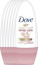 Dove Women Wintercare Deodorant - 6 x 50 ml - Voordeelverpakking