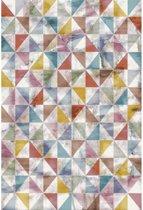 Vintage vloerkleed Sahra 80x150 cm - Multikleur
