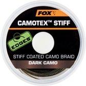 Fox Camotex Stiff | Onderlijnmateriaal | Dark Camo | 20lb