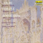 Durufle, Faure: Requiem / Shaw, Blegen, Morris, Atlanta SO