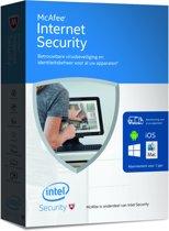 McAfee Internet Security 2016 - Nederlands / Onbeperkt aantal Apparaten / 1 Jaar