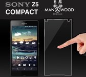 Man & Wood Screenprotector / Schermbescherming ECHT GEHARD GLAS (Tempered Glass) - Sony Xperia Z5 Compact