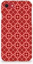 iPhone 8 | 7  Hardcase Hoesje Batik Red