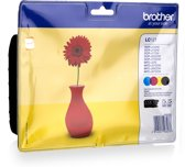 Brother LC-121 - Inktcartridge / Zwart / Geel / Magenta / Cyaan