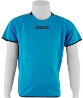 Kappa Rounded Shirt - Sportshirt - Kinderen - Maat 128 - Blue