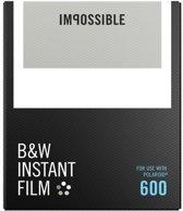 Impossible Zwart en Wit film voor Polaroid 600 camera